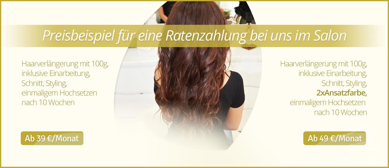 Haarverlangerung clips ratenzahlung